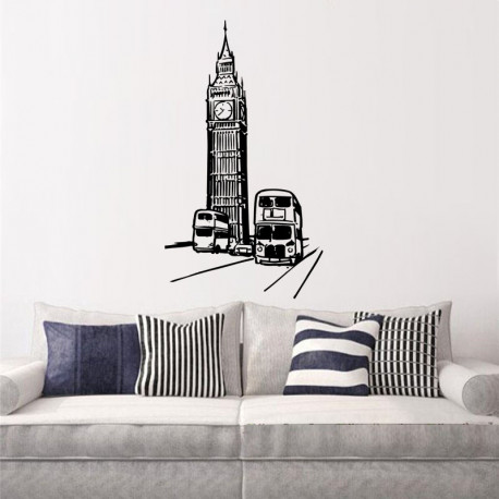 Vinilo decorativo Londres
