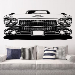 Vinilo decorativo Cadillac vehículo clasico