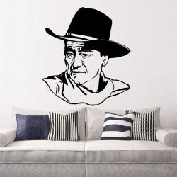 Vinilo decorativo John Wayne