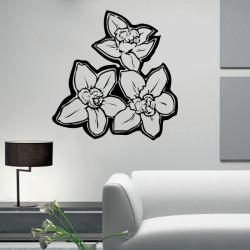 Vinilo decorativo Flores Orquideas