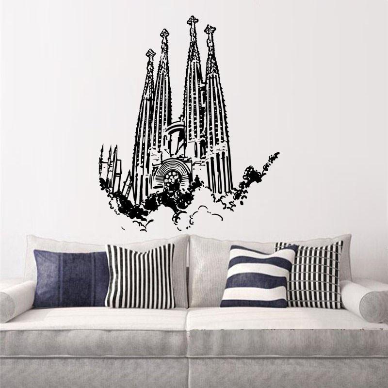 Vinilo decorativo sagrada familia barcelona - Vinilos decorativos en barcelona ...
