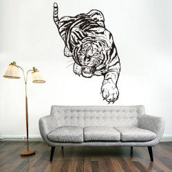 Vinilo decorativo Tigre Bengala